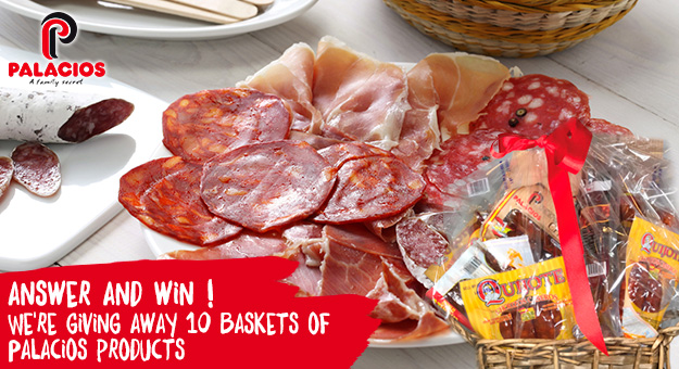 We're giving away 10 Palacios baskets for chorizo lovers!