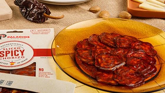 Sliced Chorizo hot