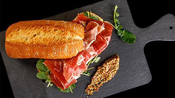 Sliced Serrano Ham