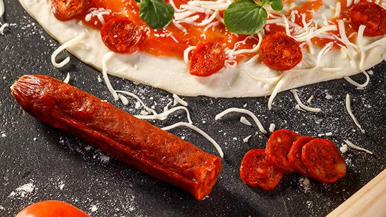 Chorizo style pepperoni