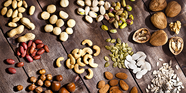 Why are nuts healthy?