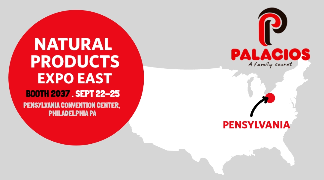 Palacios Alimentación will be present at Natural Products Expo East 2021