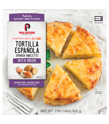 Spanish Omelet with Onion 1lib 1,6oz