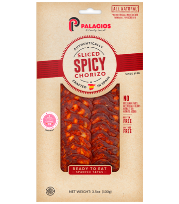 Sliced Chorizo hot 3.5oz