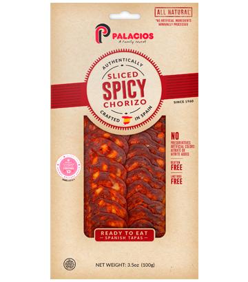 Sliced Chorizo hot 3.5oz