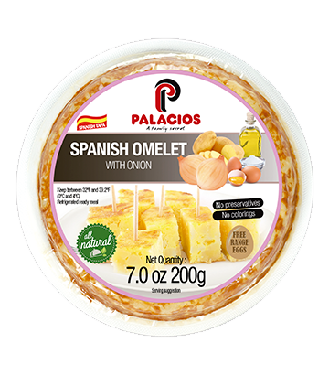 Spanish omelette with onion 7oz