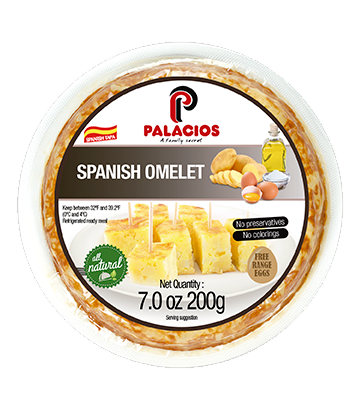 Spanish omelette without onion 7oz