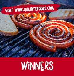 Winners of the 10 baskets of Palacios products. Visit Quijotefoods.com