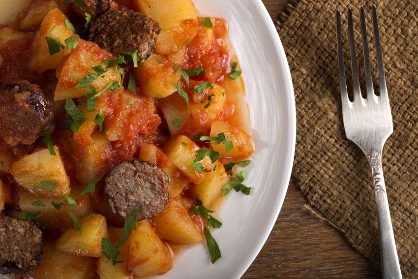 Rioja-style potatoes