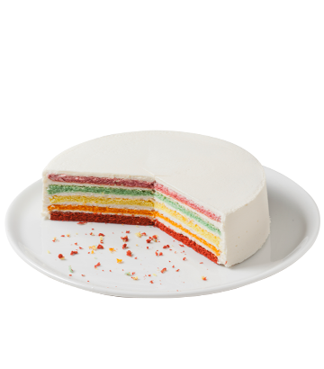 Rainbow Cake 41.27oz