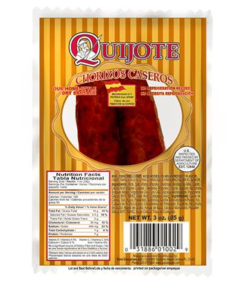 Chorizo casero 2 pack