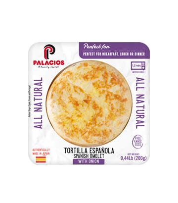 All Natural Spanish Omelet. Cage Free 0.44 lb