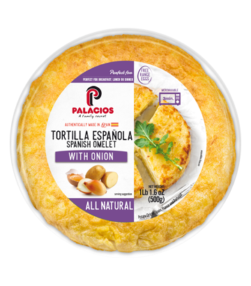 All Natural Spanish Omelet. Cage Free 1lb 1,6oz